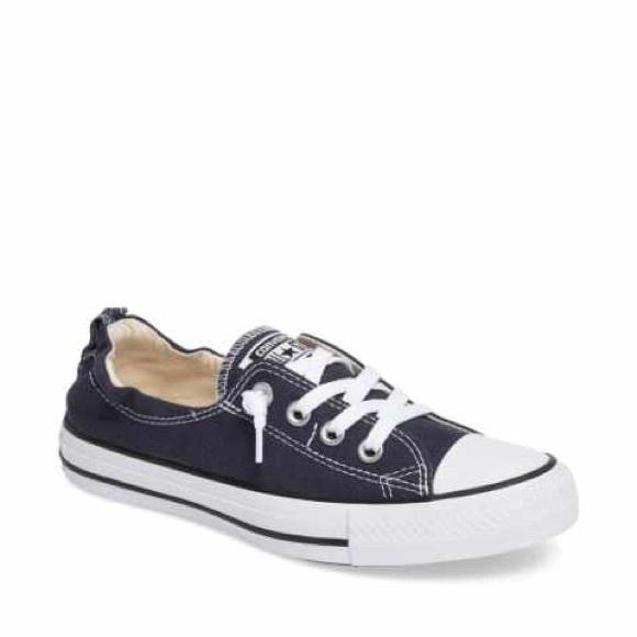 Converse Shoes | Black Low Top Elastic